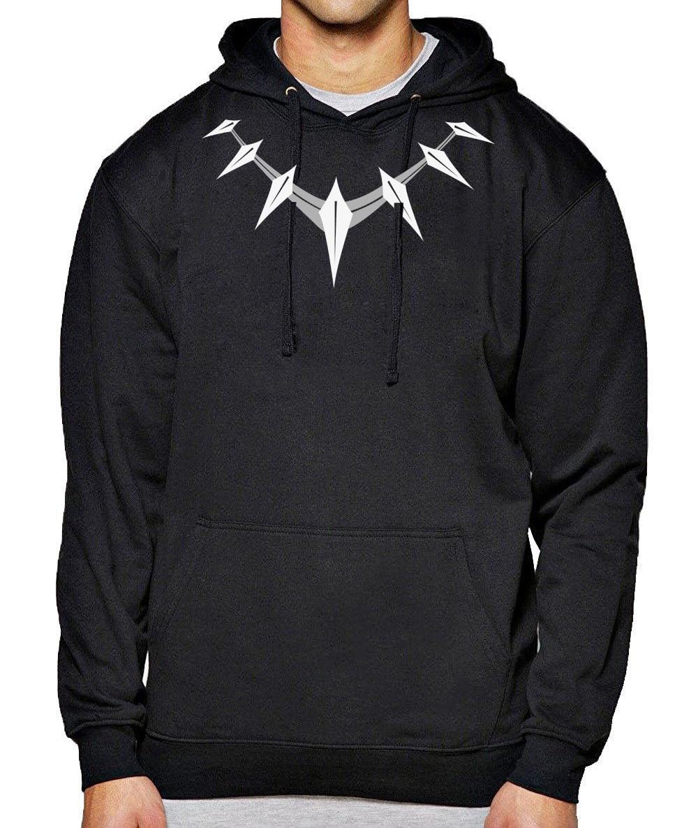 Black Panther Hoodies Men 2018 New Aututmn Winter Streetwear Sweatshirts Superhero Avengers Civil War Hip Hop Men's Sweatshirt