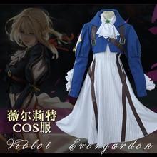 Violet Cosplay gothique robe