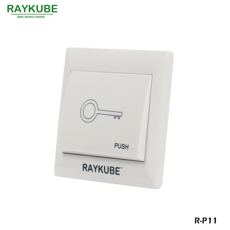 RAYKUBE Elektrisk magnetisk lås Adgangskontrolsystem sæt 180KG / - Sikkerhed og beskyttelse - Foto 5