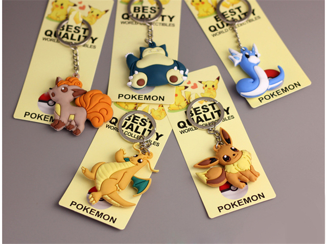 Cute  Pokemon Keychain