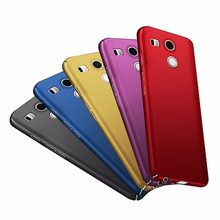 for LG Nexus 5X H791 Case Nexus5X Case Cover matte hard for LG Google Nexus 5X Phone Cases Nexus 5 X Back Cover Coque 5.2 inch(China)