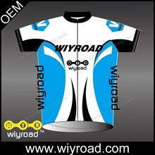 OEM service cycling clothes wholesale/cycling wear sports jersey new model/cycling team jersey with short