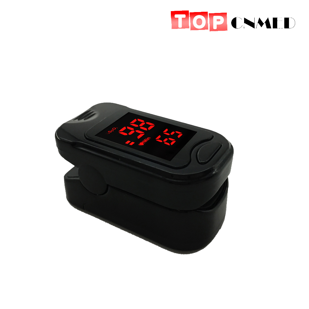 Grooming & Healthcare Kits Spo2 Pr Fingertip Pulse Oximeter Blood Oxygen Heart Monitor Protect Bag Available Blue/grey Sales Of Quality Assurance Mother & Kids