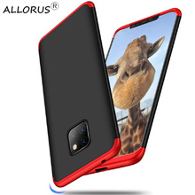 360 Anti-Shock Plastic Case For Huawei Mate 20 Pro Cover Hard PC Full Protection Case Huawei Mate 20 Pro Back Cover цены