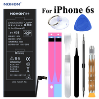 Original NOHON Battery For Apple IPhone 6s 6gs IPhone6s Real Capacity 2060mAh Cell I Phone Bateria