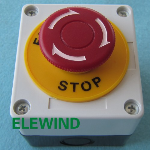 ELEWIND emergency stop switch with switch box (PB222-11TSA/R/P/T14/2260 with switch box)