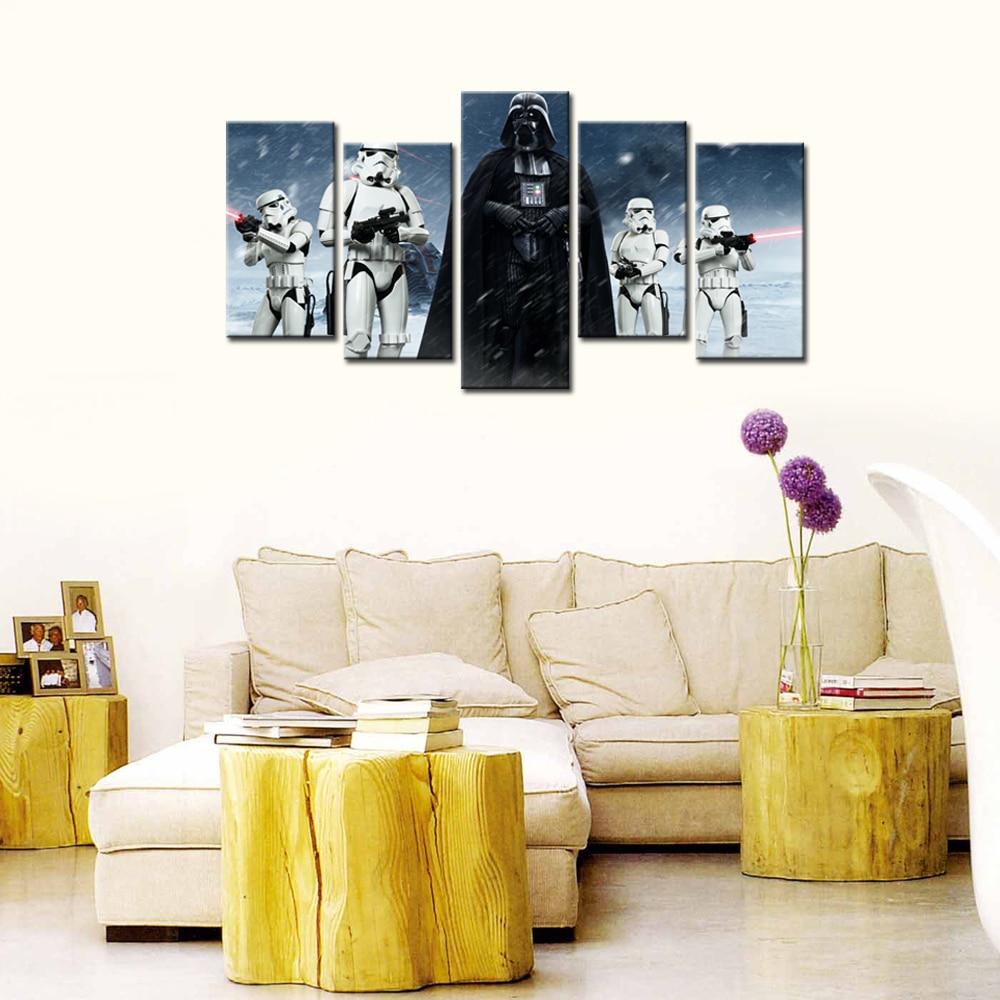 Home Decor Bilder Gerahmte Kunst Star Wars Film Poster Darth Vader ...