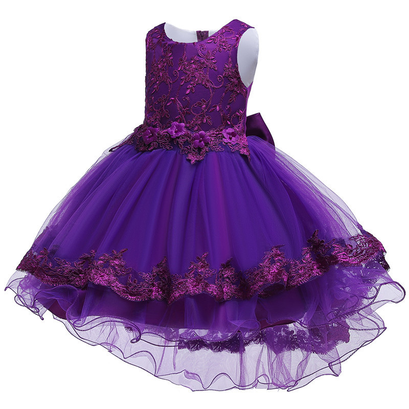 HTB1Y2BGe.KF3KVjSZFEq6xExFXal - Kids Princess Dresses For Girls Clothing Flower Party Girls Dress Elegant Wedding Dress For Girl Clothes 3 4 6 8 10 12 14 Years