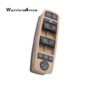 Window Switch Beige Panel For Mercedes Benz GL R Class GL350 2009 2010 2011 2012 GL450 R500 4MATIC 2005-2012 R63 AMG 2518300390