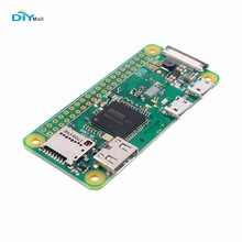 DIYmall Raspberry Pi Zero W Wireless Wifi Bluetooth 1GHz CPU 512MB RAM Linux OS 1080P HD Better Than Zero V 1.3 FZ1917W