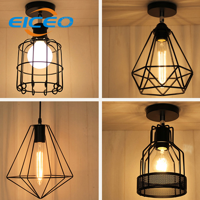 Eiceo creative simple iron chandelier living room bedroom single head droplight led ceiling lamp dining room chandelier in pendant lights from eiceo creative simple iron chandelier living room bedroom single head droplight led ceiling lamp aloadofball Choice Image
