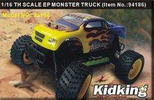 Бесплатная доставка HSP 94186 Дистанционное управление автомобиль электрический 4WD 1/16 Весы Внедорожные багги rc грузовик p2