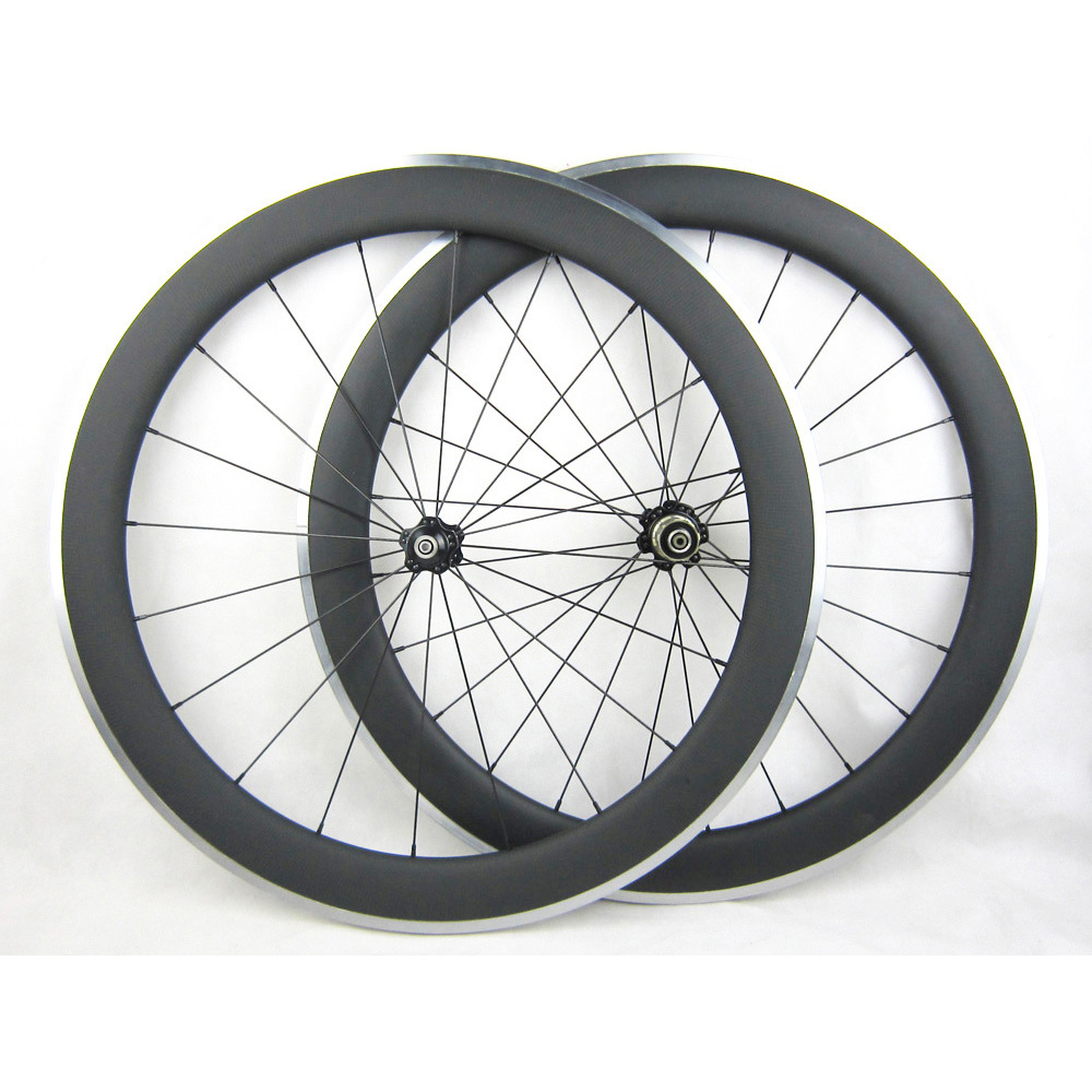 60mm Carbon Wheels Clincher With Alloy Brake Surface R36 Hub Road Bike Carbon Wheelset Aluminum Braking Surface gub aluminum v brake road bike wheels 42mm cheap wheels with alloy brake surface clincher wheelset 700c 10 11speed compatible