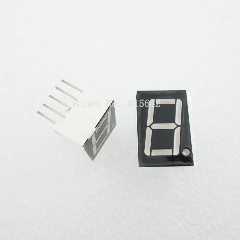 5PCS/LOT 1 Bit 1bit Digital Tube Common Anode Positive Digital Tube 0.56