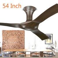 10%LK1408 Quality ABS Leaves Ceiling Fan 3 Gear Fan Speed Adjustable Electric Fan Home Energy Saving Fan 54 Inch