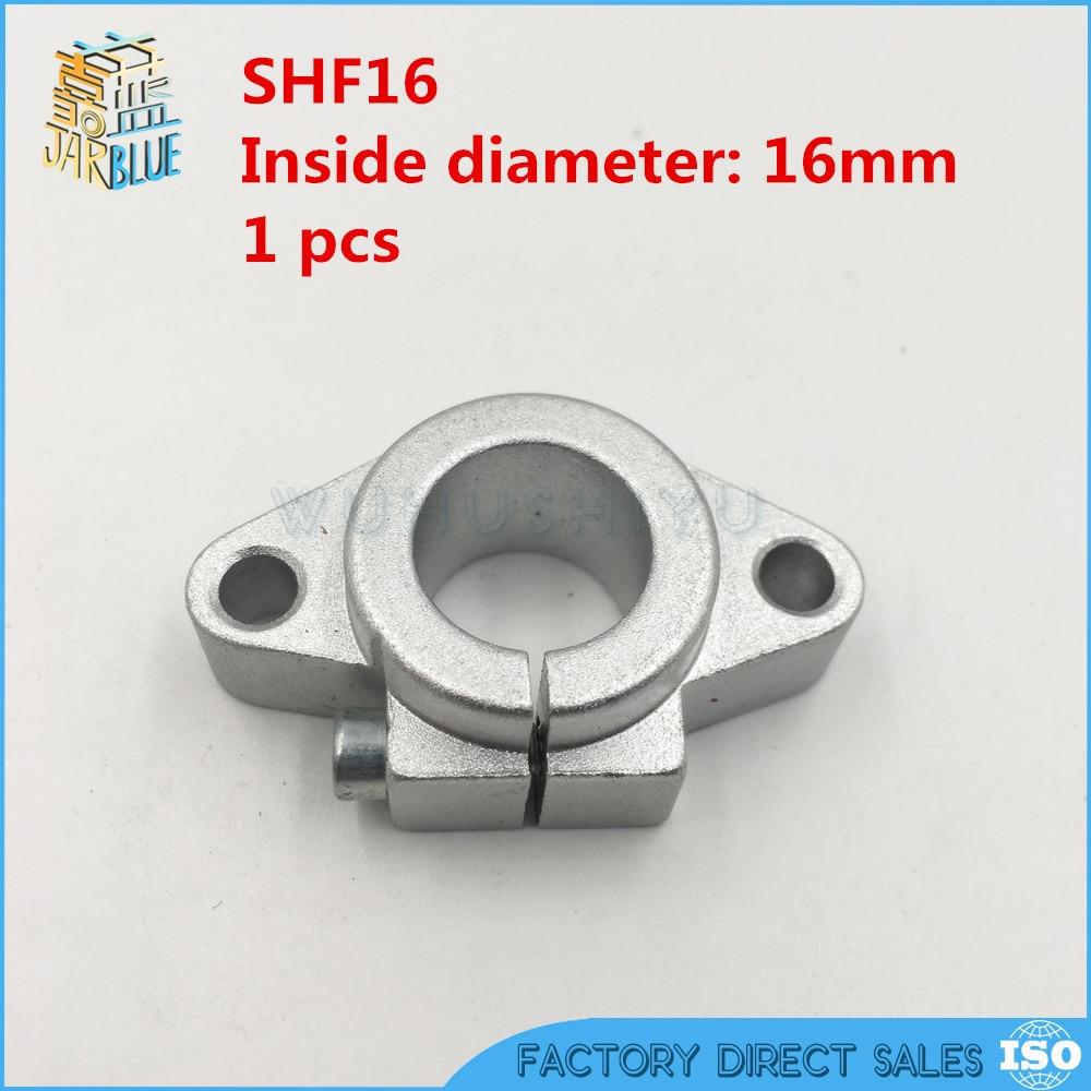 SHF16 horizontal linear shaft support,16mm Linear Rail Shaft Support XYZ Table CNC SHF Series Rail Shaft xyz table cnc milling sk20 20mm linear rail motion shaft support