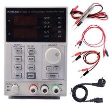 KA3005D Precisión Variable Ajustable 30 V, 5A Lineal DC fuente de Alimentación Digital Regulado Lab Grade