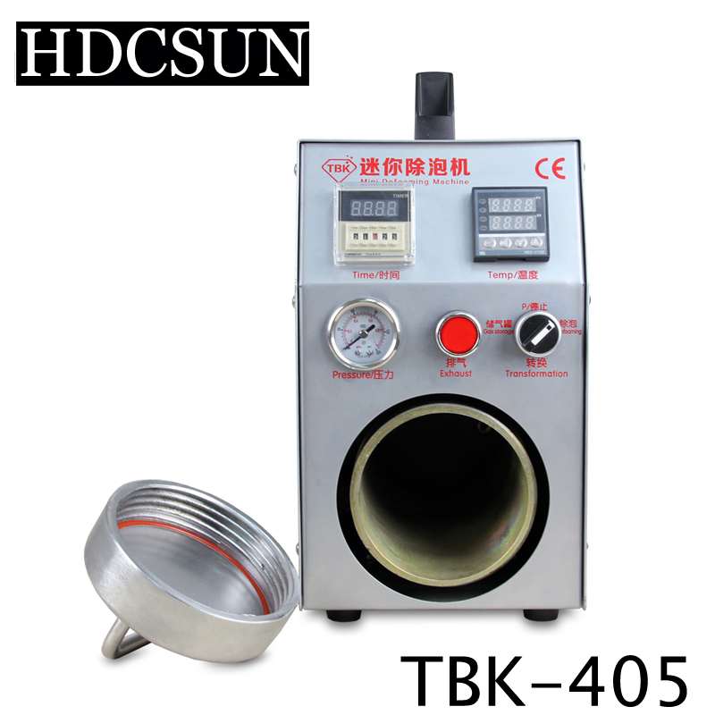 New arrival TBK high quality portable bubble remover built-in air compressor 220v/110v OCA adhesive LCD bubble removing tbk 708 for curved screen oca lcd laminating machine for s6 edge s7 edge bubble remover built in vacuum pump air compressor