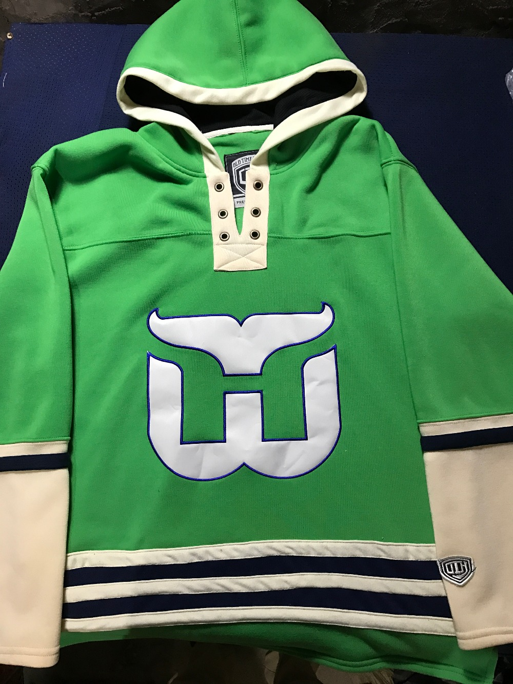 Throwback Hockey Jersey Customize Any Name Any Number High Quality Stitched Men Hoodie Sweater Jerseys S-6XL mighty ducks hockey jersey customized any name any number high quality stitched logos throwback ice hockey jersey s 4xl