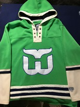 Throwback Hockey Jersey Customize Any Name Any Number High Quality Stitched Men Hoodie Sweater Jerseys S-6XL