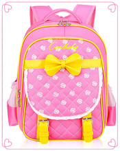 Japanese Butterfly Girls School Bags Children Backpack Winx Bow High Primary Bookbag Orthopedic Princess Schoolbags Mochila