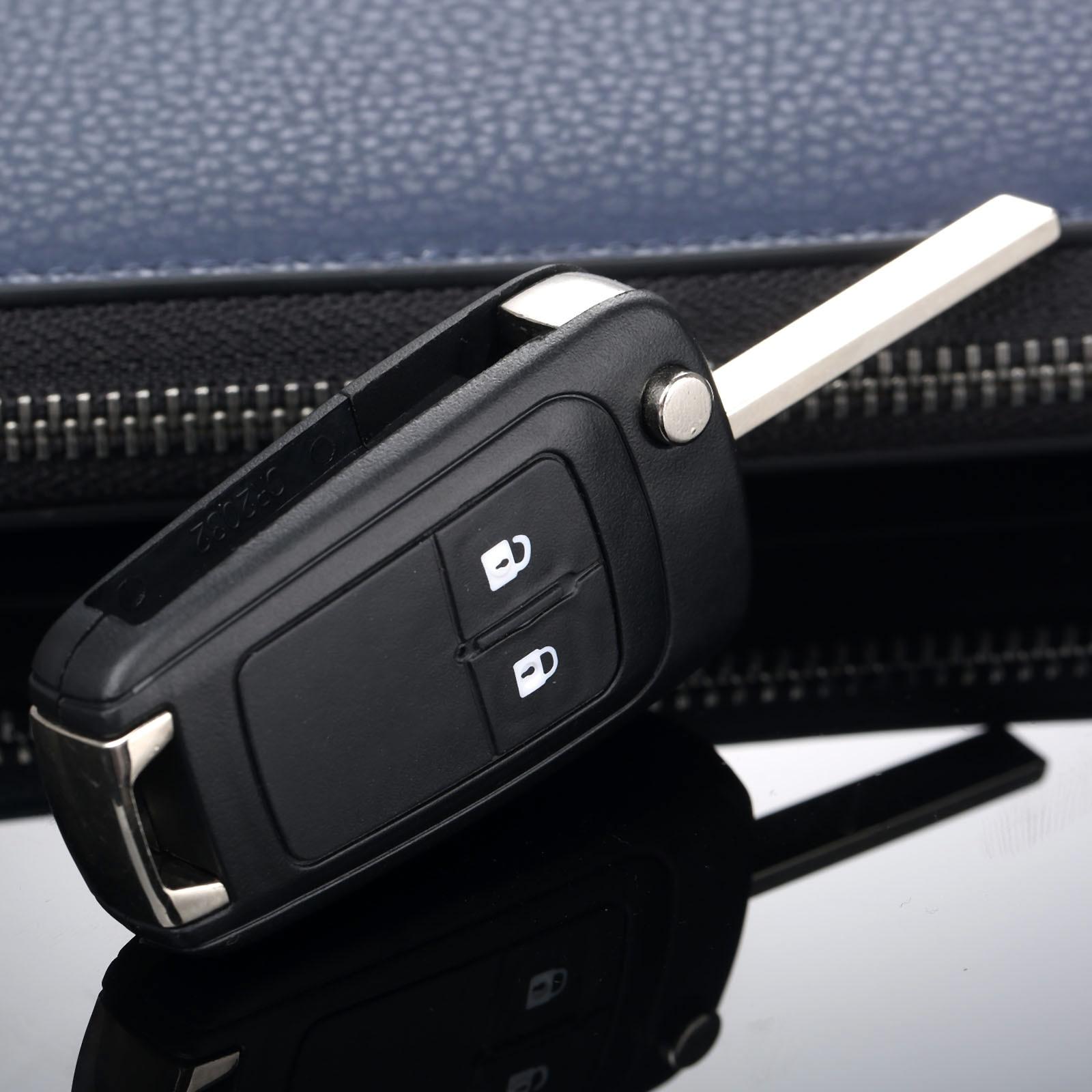 Image 4 - 2 кнопки дистанционного Складной флип чехол Fob крышка автомобиля заготовка для ключа зажигания подходит для Chevrolet Camaro Cruze Equinox Malibu Sonic Spark Volt-in Ключ авто from Автомобили и мотоциклы
