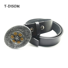 T-Disom Smith Wesson 44MAG Spinner Western Belt Buckles With Good Plating For Mens Accessories Matched With Belts Drop shipping