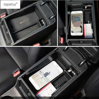 Lapetus Storage Pallet Container Holder Tray Box Cover Kit For Hyundai Tucson 2016 2017 2018 2019 Automatic Model Accessories