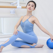 VSEMLEING Ballet Dance Dress One Piece Suit Performance Clothing Fitness Tight Yoga Sets Beauty Jumpsuit