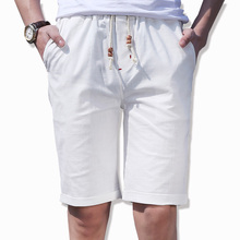 Бесплатная доставка 2017 новый летний колен белый пляж белье шорты мужчины Проветрить Комфорт Моды для Мужчин Горячие шорты Надувательства