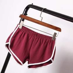 Женские Летние повседневные шорты, удобные дышащие шорты с эластичной резинкой на талии, разные цвета, размер s/m/l