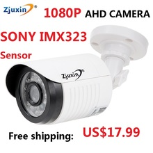 1PC Zjuxin ahd camera 1080p 5 24 LED ahd 2mp camera with HD 3 6mm lens