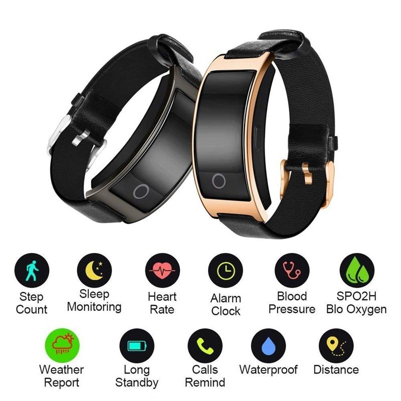 Smart Uhr Männer CID Schritt Sport Bluetooth Armband Uhr Eingehenden Anruf Erinnerung Fitness Tracker Kalorien Mode Frauen Alarm Uhr