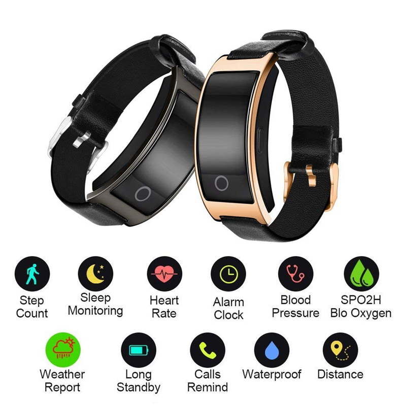 Smart Watch Men CID Step Sport Bluetooth Bracelet Watch Incoming Call Reminder Fitness Tracker Calorie Fashion Women Alarm Clock