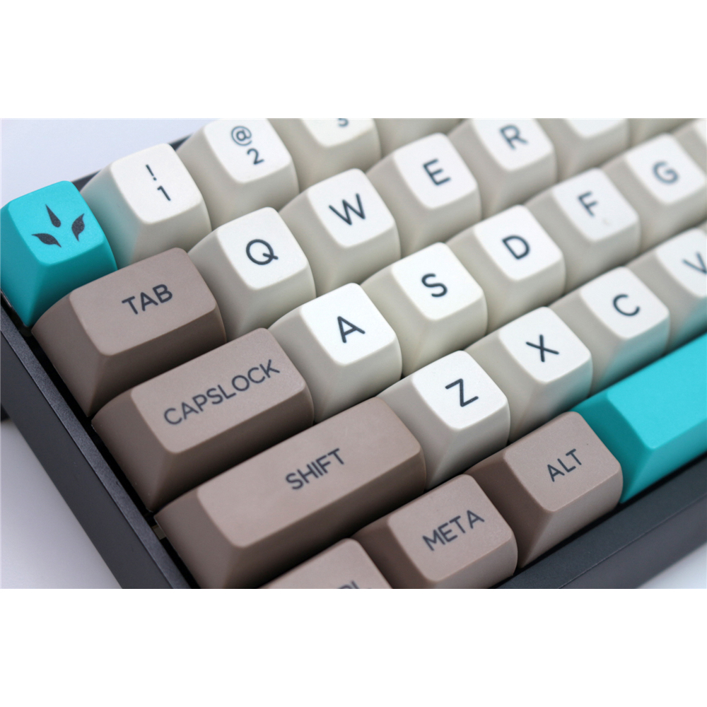 MP Dye Sublimation Keycap Retro Beige 134 KEYS SA PBT Keycaps Cherry MX switch keycaps for Wired USB Mechanical Gaming keyboard in Keyboards from Computer Office