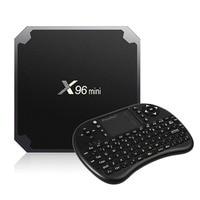 X96 Mini Smart TV Box Android 7 1 2 Amlogic S905W 1G 2G RAm 8G 16G