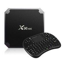 X96 мини Умные телевизоры Box Android 7.1.2 Amlogic s905w 1 г/2 г оперативной памяти 8 г/16 г Встроенная память 2.4 г 4 ядра WI-FI HDMI 2.0 4 К HD Smart Media Player