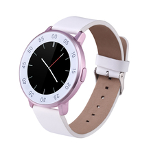 Stilvolle s366 smart watch siri mtk2502 bluetooth 4,0 smartwatch pedometer schlaf-monitor nachricht anrufe erinnerung für ios android