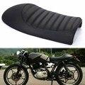 New black cafe racer moto corcunda assento de sela para suzuki gs para yamaha xj para honda cb