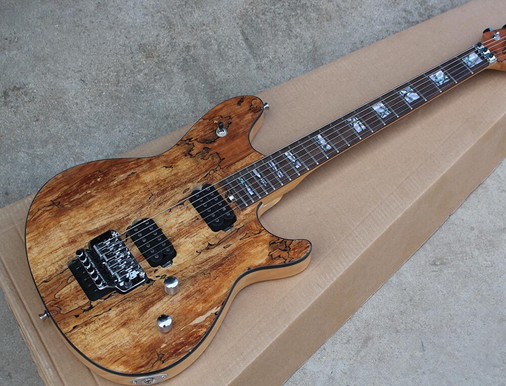 9d24431715f Top Quality GYEVH-501 original Color with burl grain cover active pickup 5150  EVH Guitar