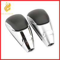 Automatic Car Gear Shift Knob Lever Stick Head Gearbox Handles for Toyota Highlander Camry Tundra Previa Alphard Corolla Leather