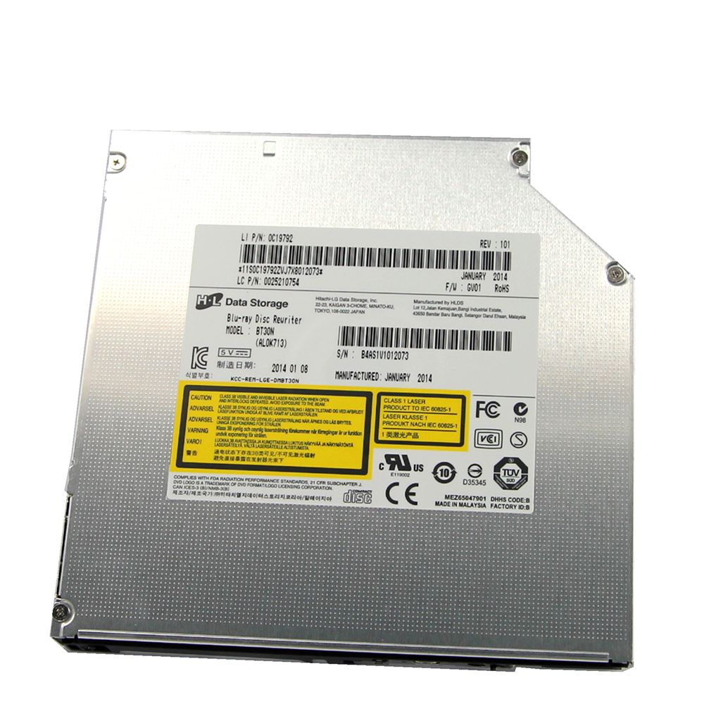 купить New BT30N 6X 3D Blu-ray Burner Writer BD-RE 8X DVD CD RW SATA Drive 12.7mm по цене 5643.11 рублей