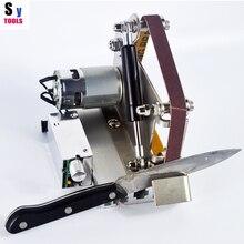 Sy инструменты профессиональные Кухонные напольные Нож шлифовальные Apex точилка металлическая мини абразивная лента машина заточной системы