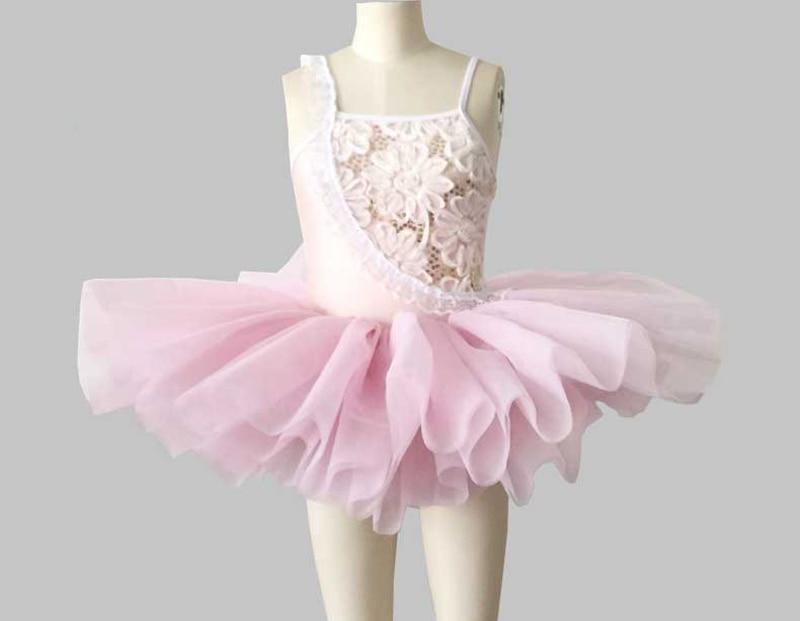 Ballet danse jupe ciel bleu blanc rose Ballet Tutu Costume enfants cygne lac scène concours Ballet Tutu filles danse robe