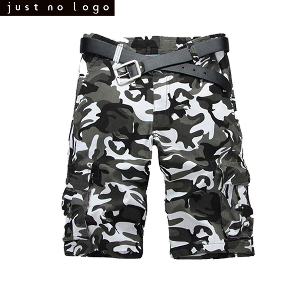 Mens Camo Cargo Shorts Summer Military Army Fatigue Camouflage Cargo Pants Work Jogger T ...