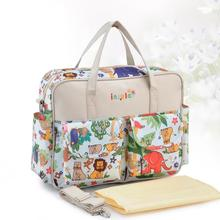 Baby Travel Diaper Bag Mummy Large Capacity Nappy Bag Organizer Baby Bag Stroller Mother Backpack Inclined Shoulder Bags For Mom