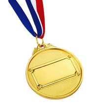 New gold medal hot sale white plating k200223