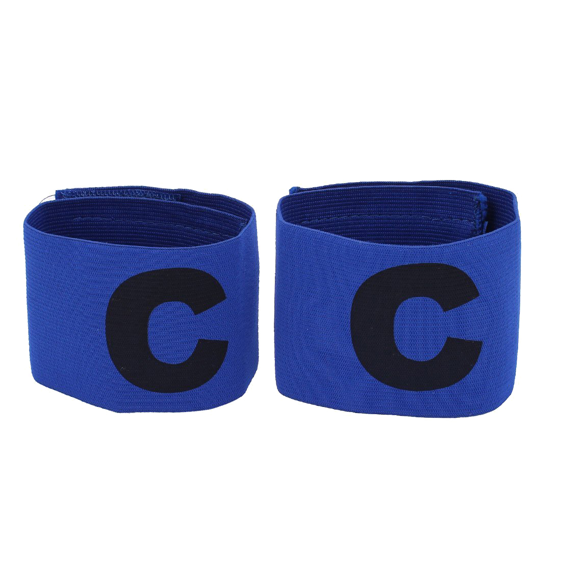 846e03199d31 Durable elástico Telas C Impresión Fútbol fútbol capitán brazalete 2 unids  azul en Manguitos de Hogar y Jardín en AliExpress.com
