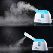 Ozone Face Vaporizer Cold Spraying Vapor Machine Ionic Beauty Face Mist Sprayer Nano Facial Steamer Moisturizing Humidifier