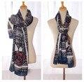 Women winter scarfs 2015,cotton scarf,bandana,desigual,flower print scarf,head winter Muffler,shawls and scarves,floral hijab